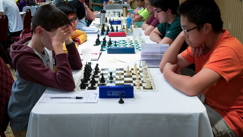 Theodore Slade (L) vs Jackie Liu (R) Premier Section, Round 4, CFCC Orlando Autumn Open