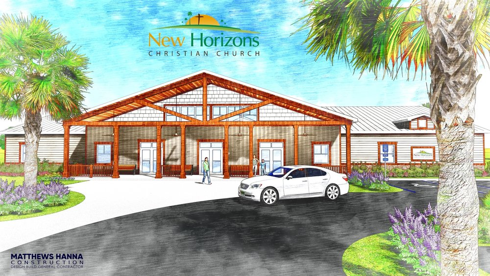 NEW HORIZONS CHRISTIAN CHURCH - FRONT VIEW