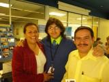 Young man (w/parents) created CPSH Mission video