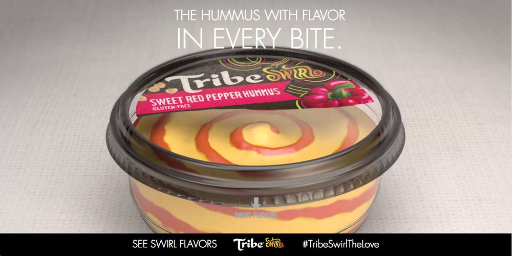 Tribe Hummus- Swirl Launch Microsite