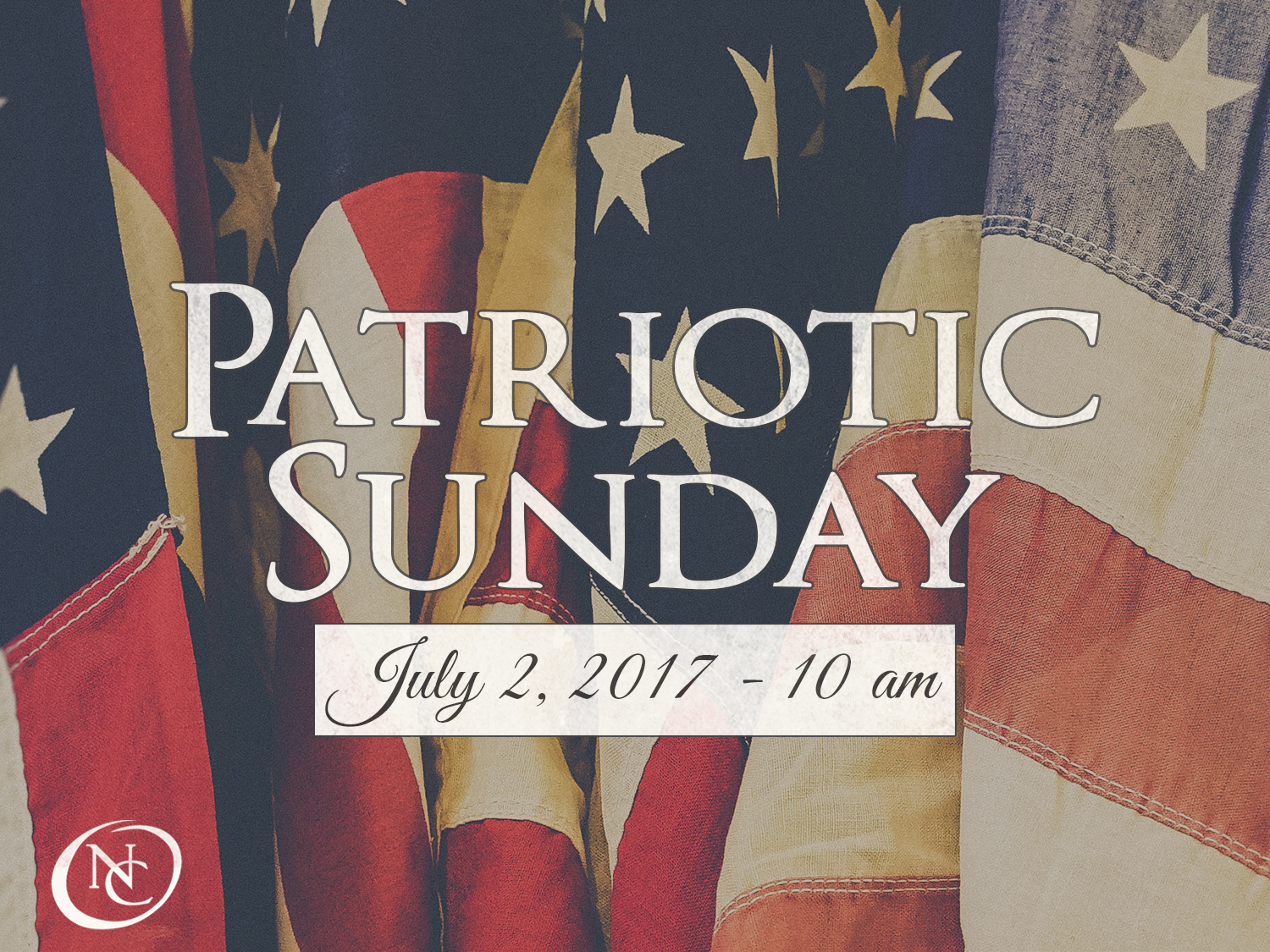 Patriotic Sunday with Chad Connelly 2018