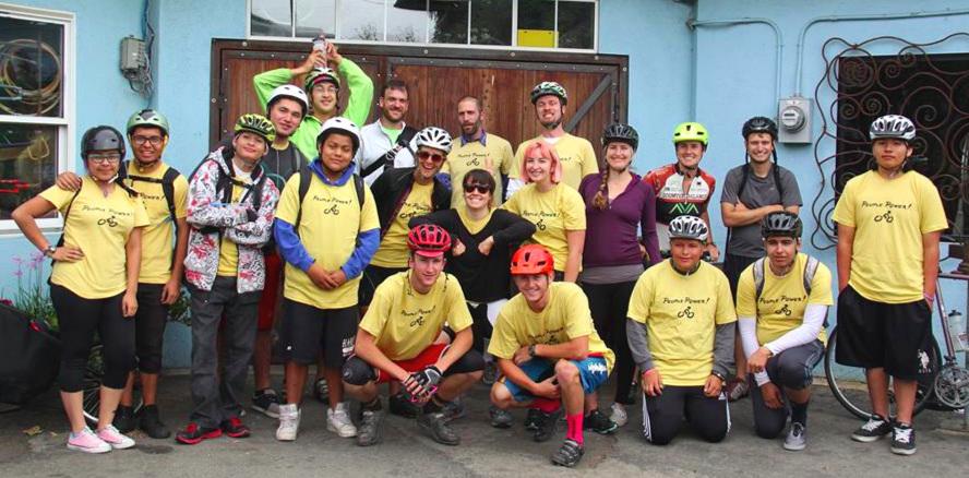 Bike the Bay crew, 2014