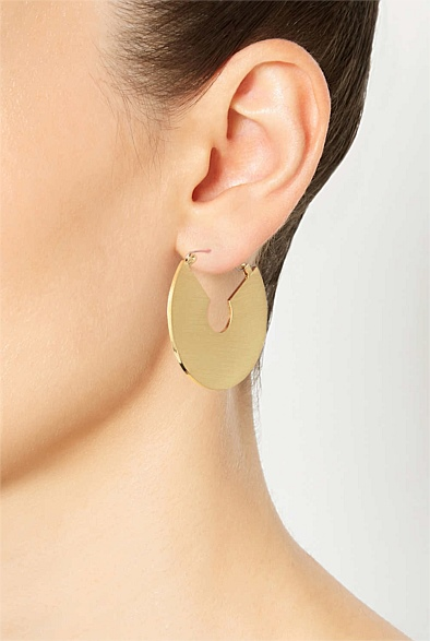 WITCHERY CRESCENT HOOP EARRINGS $39.95