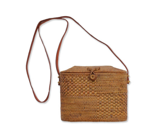 SUNDAY LIVING WOODS BAG $65