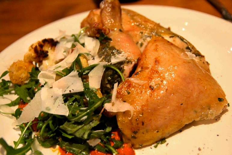 NOPA's signature rotisserie chicken