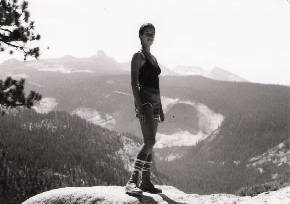 My mother, Julee, in Yosemite