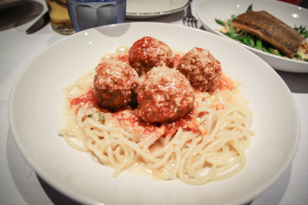 Spaghetti and Meatballs alla Marinara