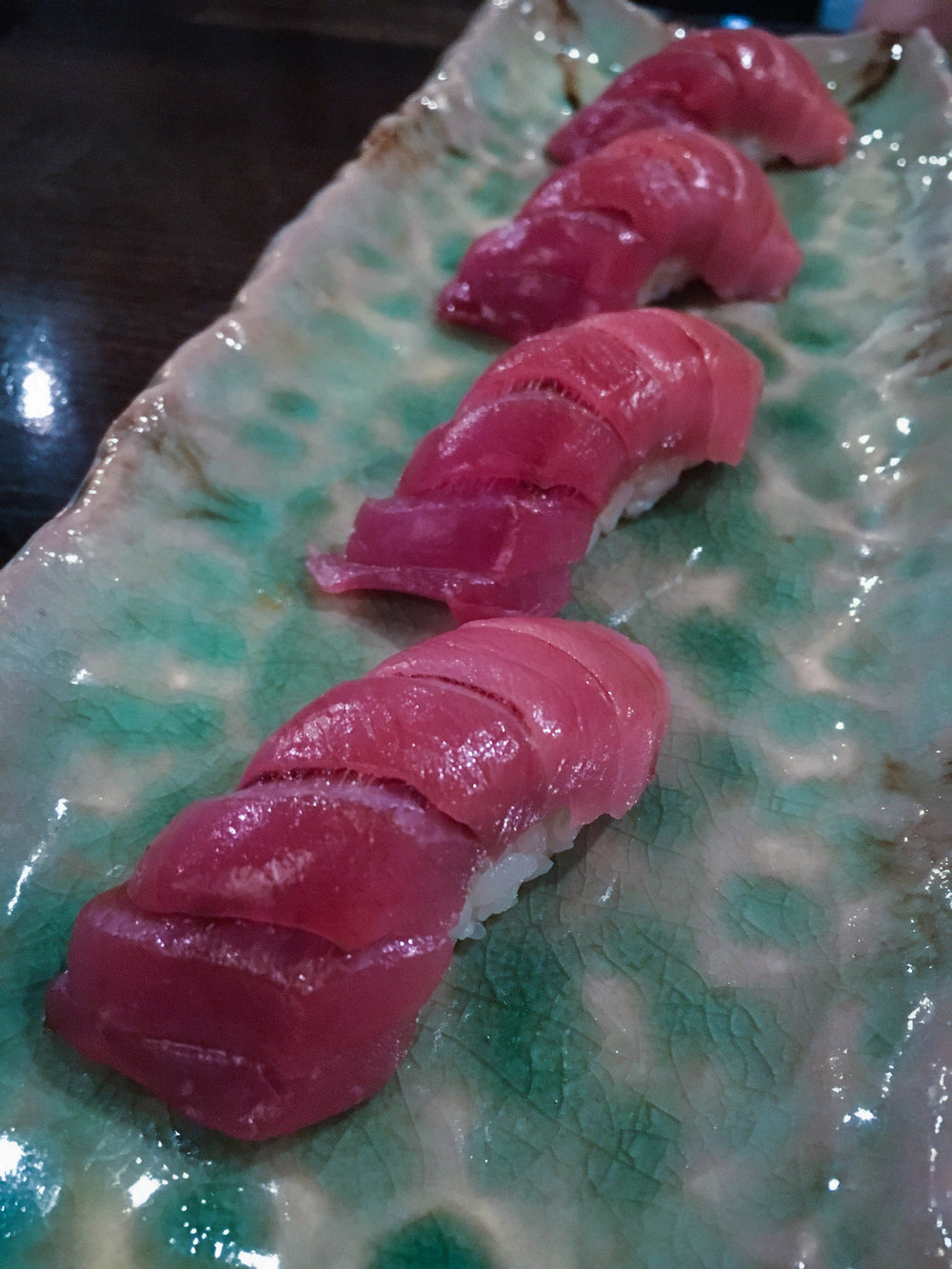 Fatty tuna for the win.