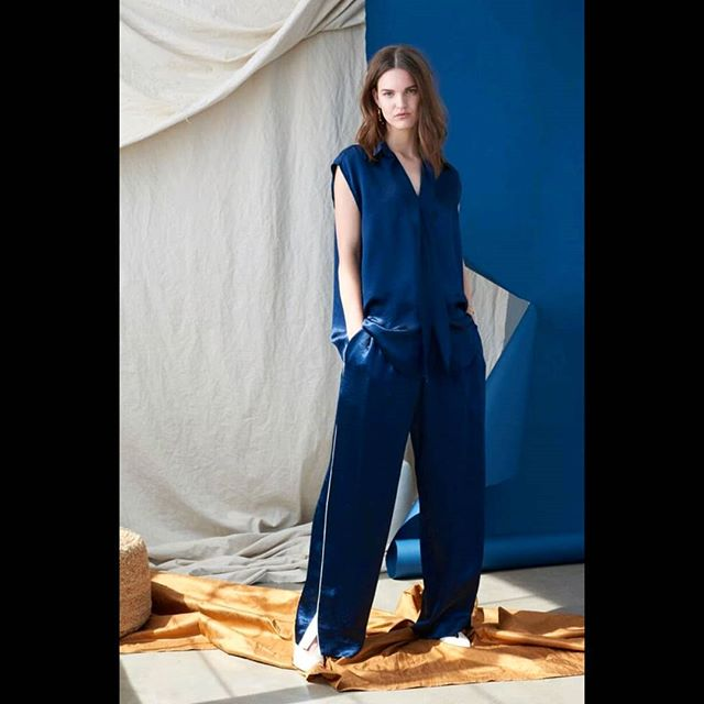 Because fierce is the only option. @audra @blackandsteil @venoit @kyledavidmalone @lucindaschaefers  #work #styling #casting #fashion #vogue.com #lookbook #resort19