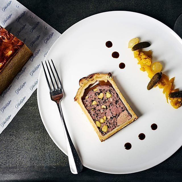 The Pate En Croute Foie Gras at Philippe is something you must have at least once in your life time! How elegant does it look? Photo: @philippe_restaurantmelb #foiegras #pate