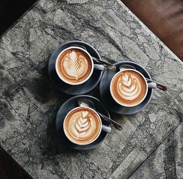 Oh boy, I'm going to need all three coffees to get through the morning. Who else is feeling it today? #tuesdayitis  #regram @melbourne.coffees