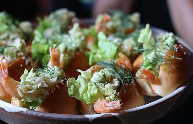 These young rice prawn banh mi were all the rage at @unclerestaurants Collins Street launch party this evening. What a fab night and thanks to everyone who made it a success! Now excuse us while we lie on the couch and pass out from all the cocktails and amazing food... 😅🍹🍤 Photo: @melbournefoodiefinds