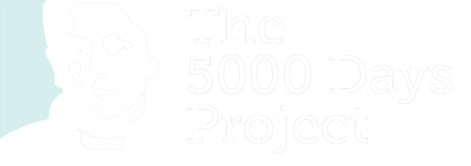 The 5000 Days Project