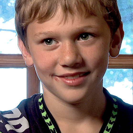 "Jesse (10) Leavenworth, WA Director's note: ""Strong, thoughtful, athletic and gentle (except with little sister!"""