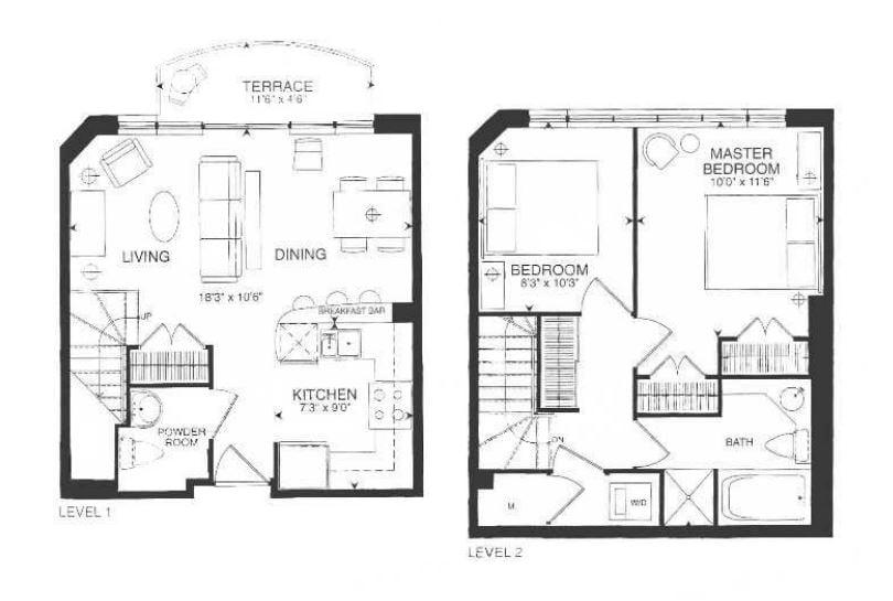901 Queen W - floor plans.JPG