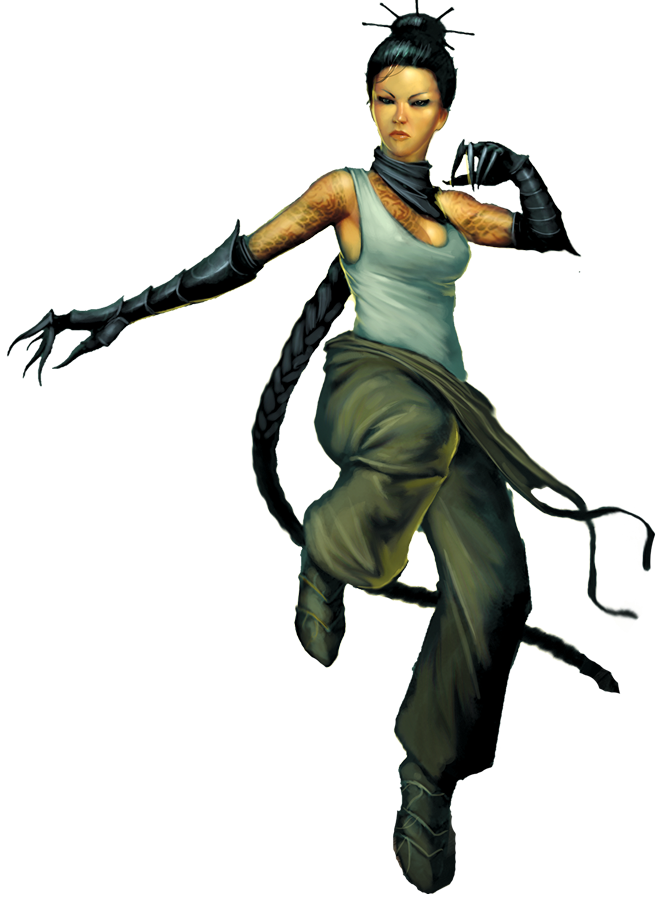 Malifaux - Ten Thunders & Arcanist- Mei Feng
