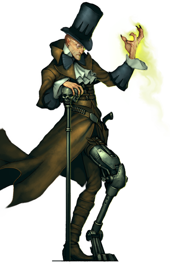 Malifaux - Resurrectionist  - Nicodem