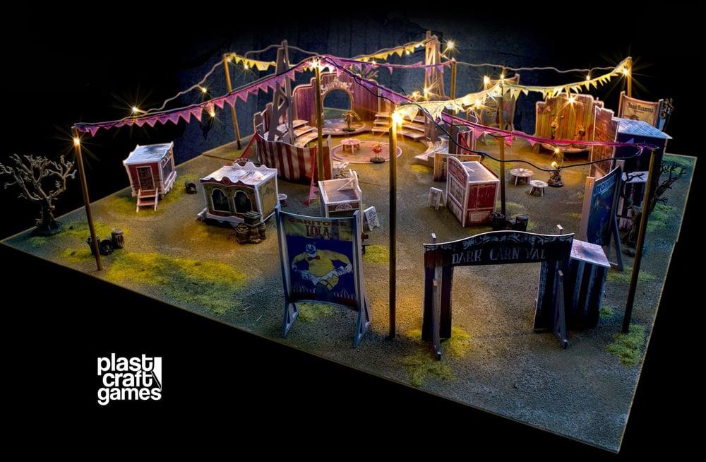 Wyrd Terrain - Plastcraftgames - Circus