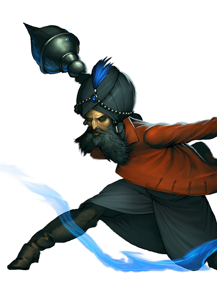 Malifaux - Arcanist - Rasputina