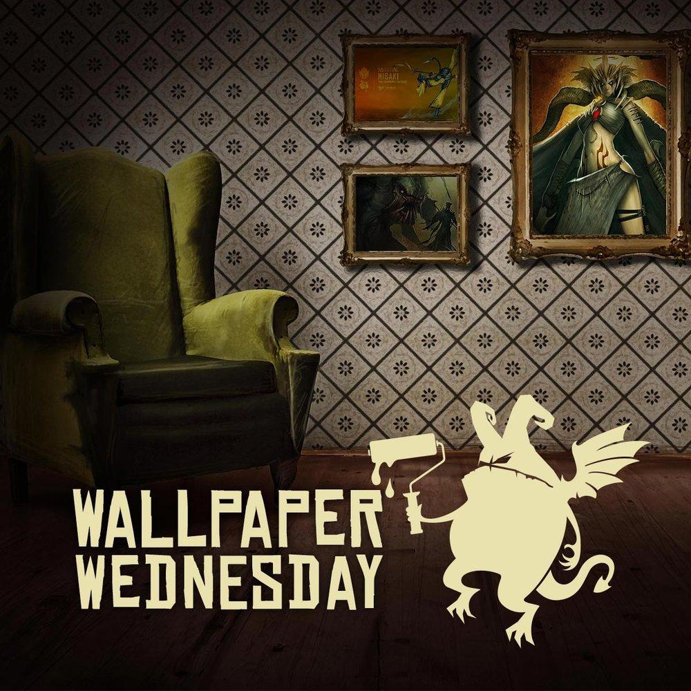 Wednesday Wallpaper - Asylum