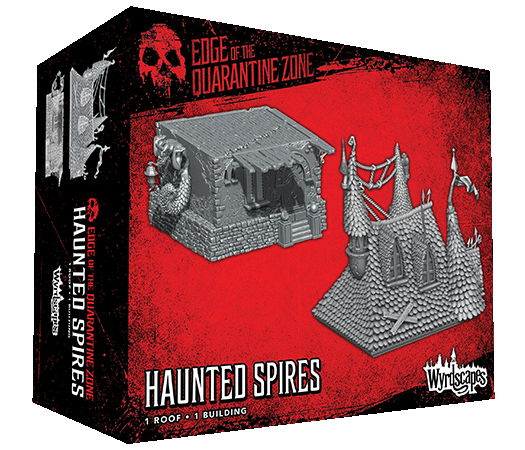 HAUNTED SPIRES - 1 Roof and 1 Building