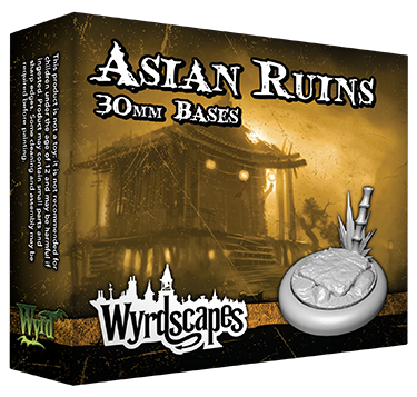 ASIAN RUINS - 30mm, 40mm, and 50mm Bases Available