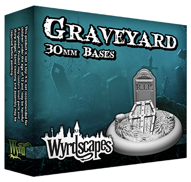 GRAVEYARD - 30mm, 40mm, and 50mm Bases Available