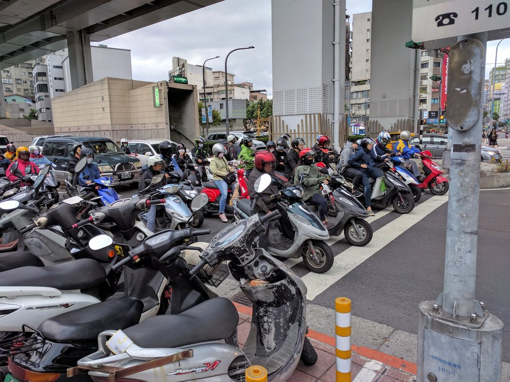 Hell's Angels Scooter Club // Taipei