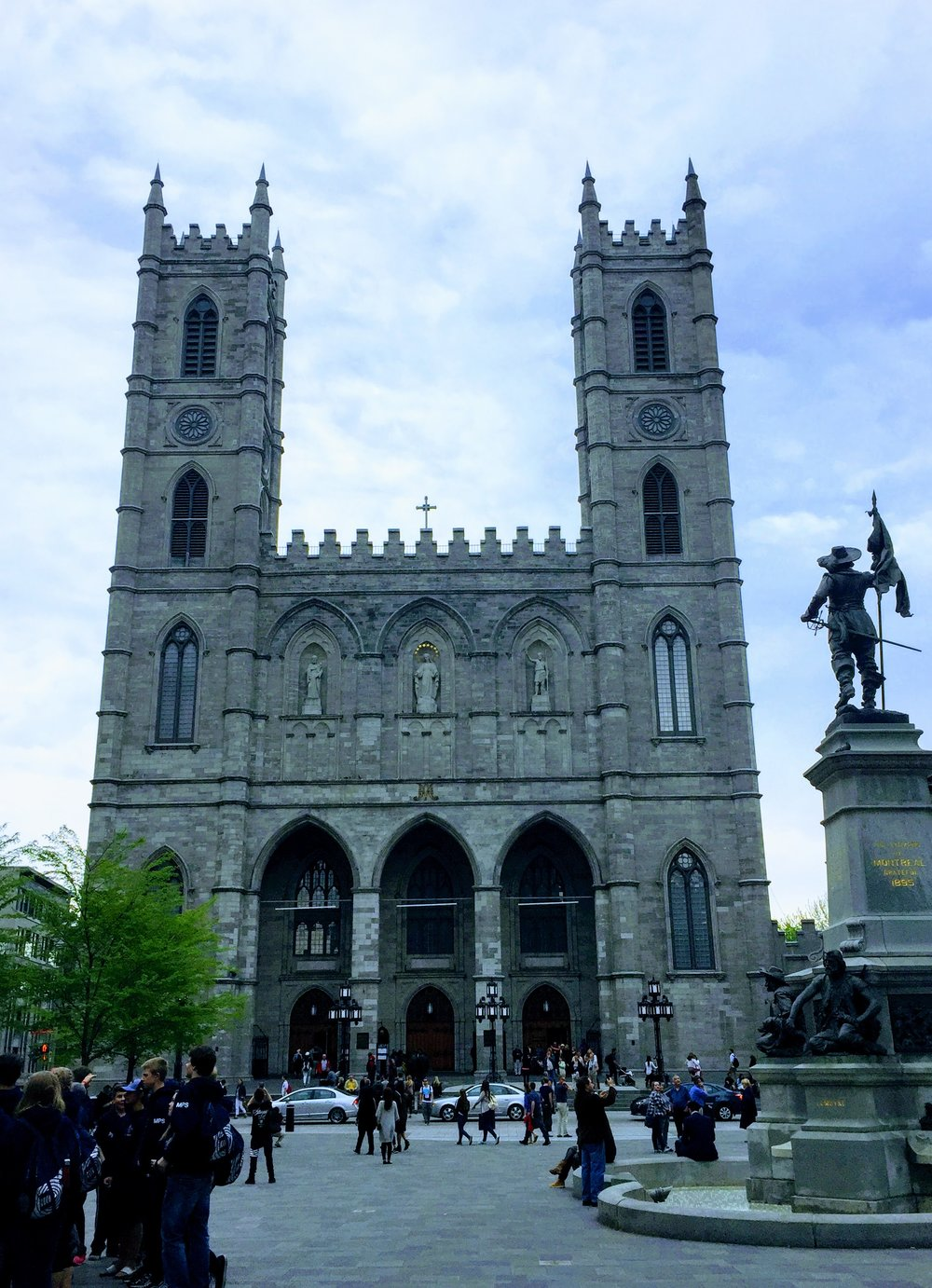 Notre-Dame Basilica. Impressive on the outside and...