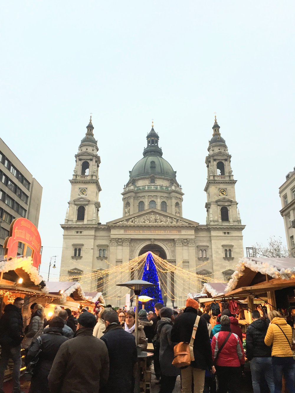 Christmas market // Budapest, Hungary