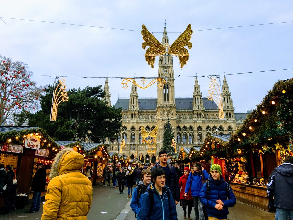 My favorite Christmas market // Vienna, Austria