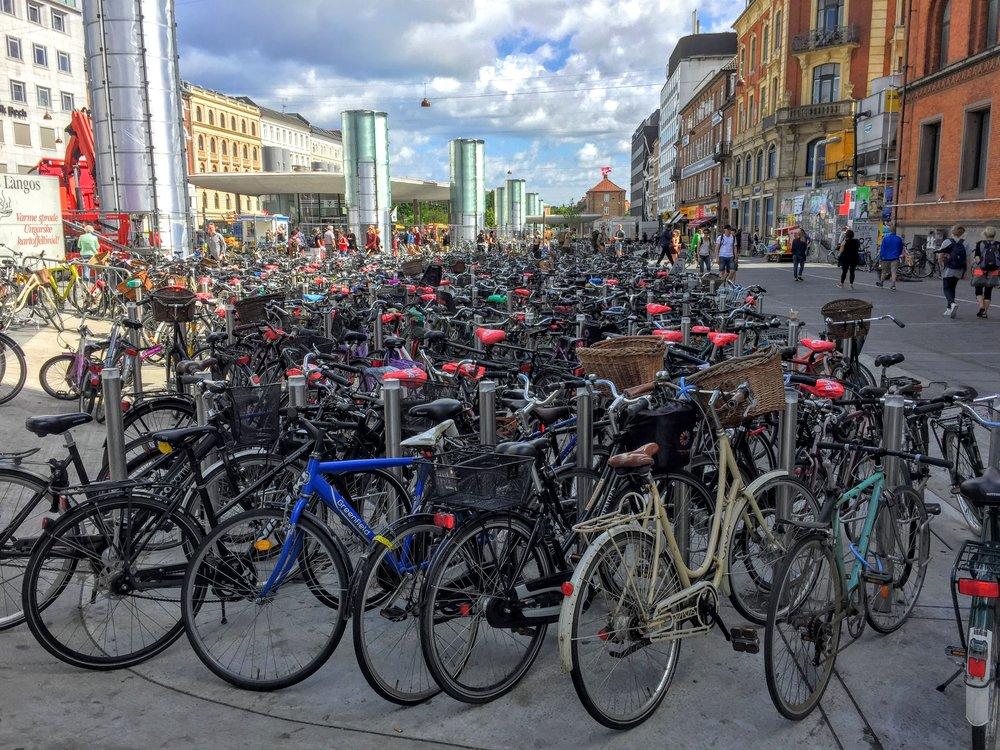 The bike haven of the world! //Copenhagen, Denmark