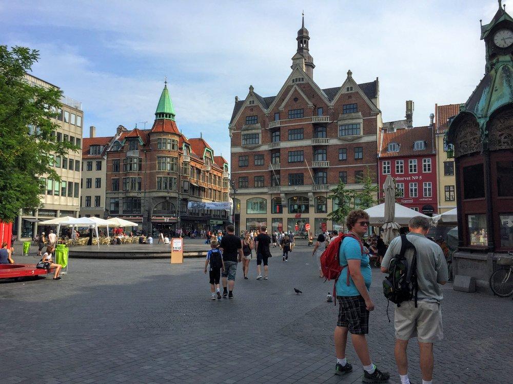 Kultorvet square // Copenhagen, Denmark