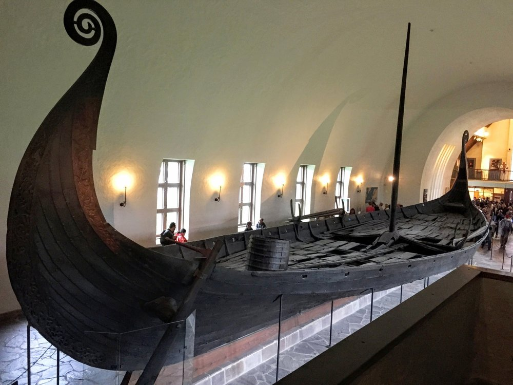 A real, live Viking ship // Oslo, Norway