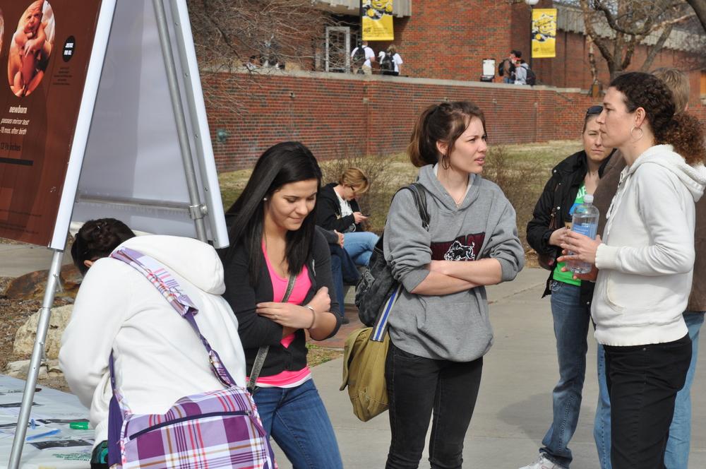 Amanda, Kim, and Lucy