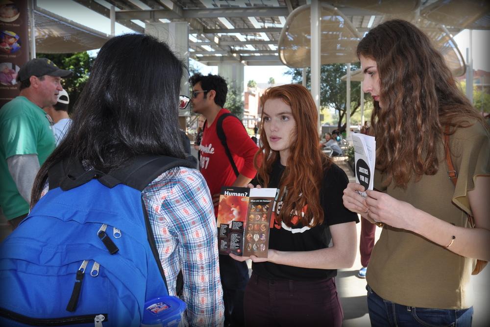 Students from NE, AZ, and OK