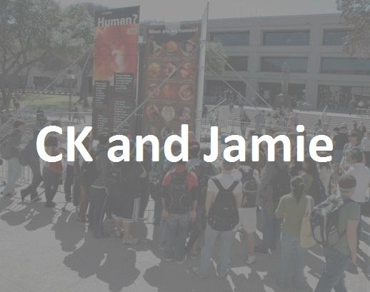 CK and Jamie