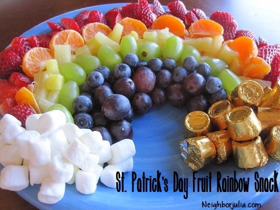 Fruit Rainbow Snack