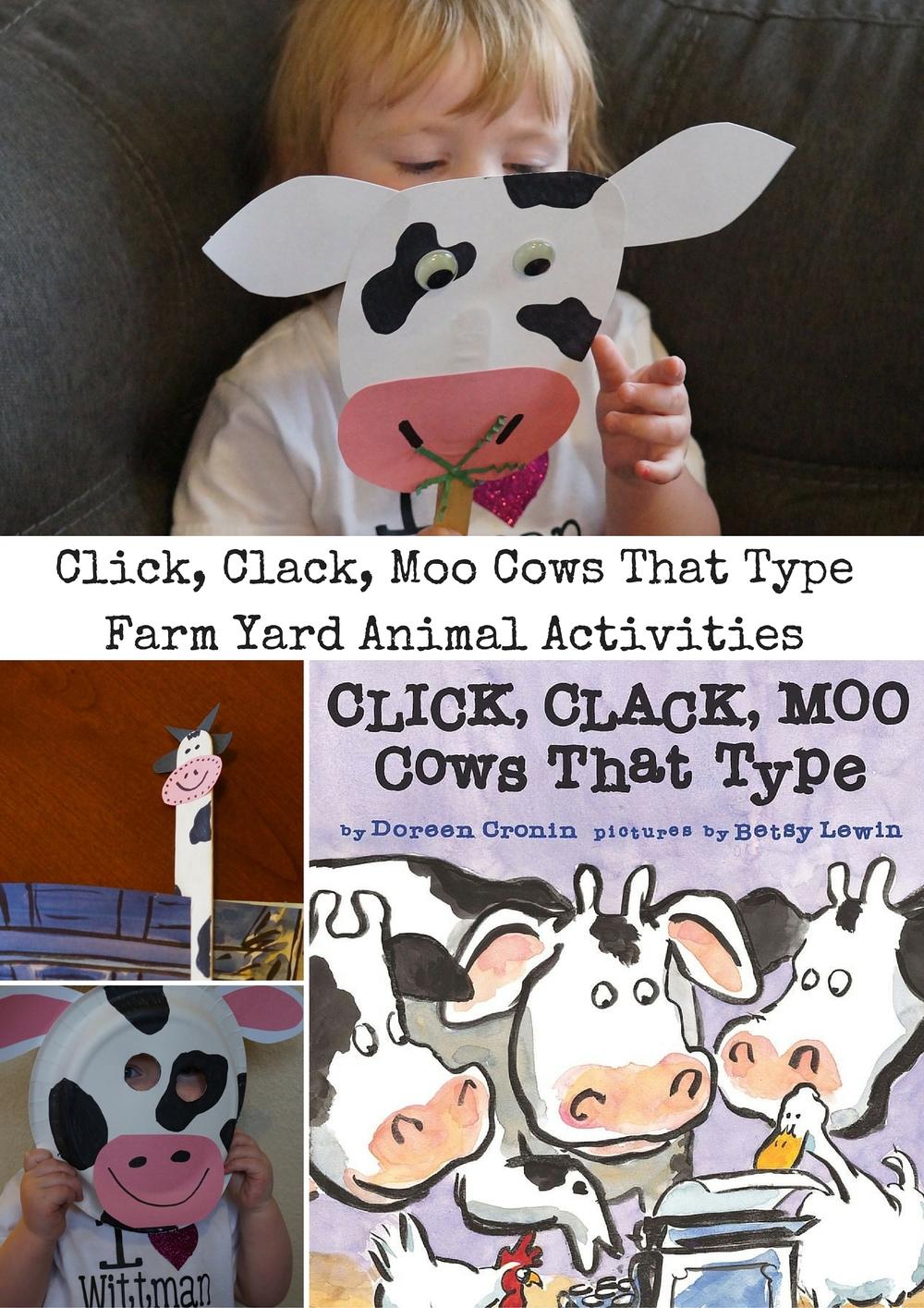 click clack moo cows that type u2014 cute kids reading books