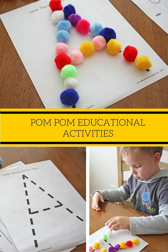 Pom Pom Educational Activites