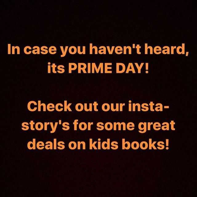 One of our all time books just came the on a lightning deal! Check out our stories to see which one! #amazonprime #primeday #cutekidsreadingbooks #childrensbooks