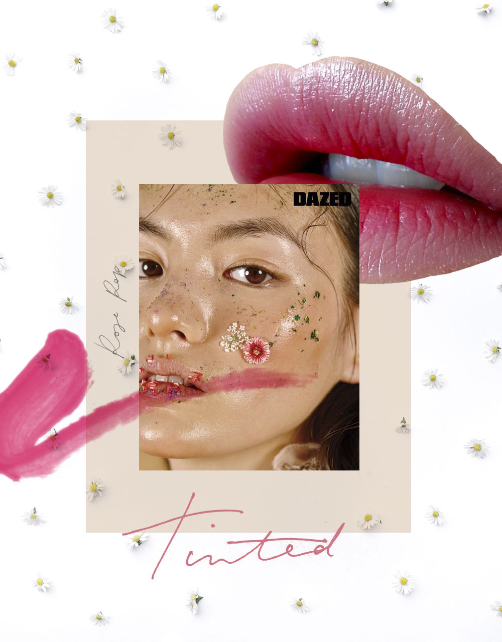 Collage using all of my Images except Model Image by Dazed, LipS UNKNOWN (just used as reference)