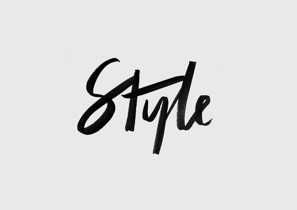 'Style' Lettering for Witchery Style Recruits