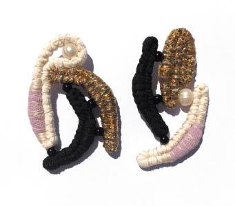Ruby phyllis earrings