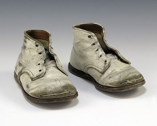 https://commons.wikimedia.org/wiki/File:Operation_Babylift_baby_shoes.JPG: Public Domain