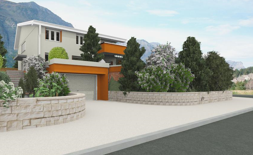 Landscaping & Exterior Renderings