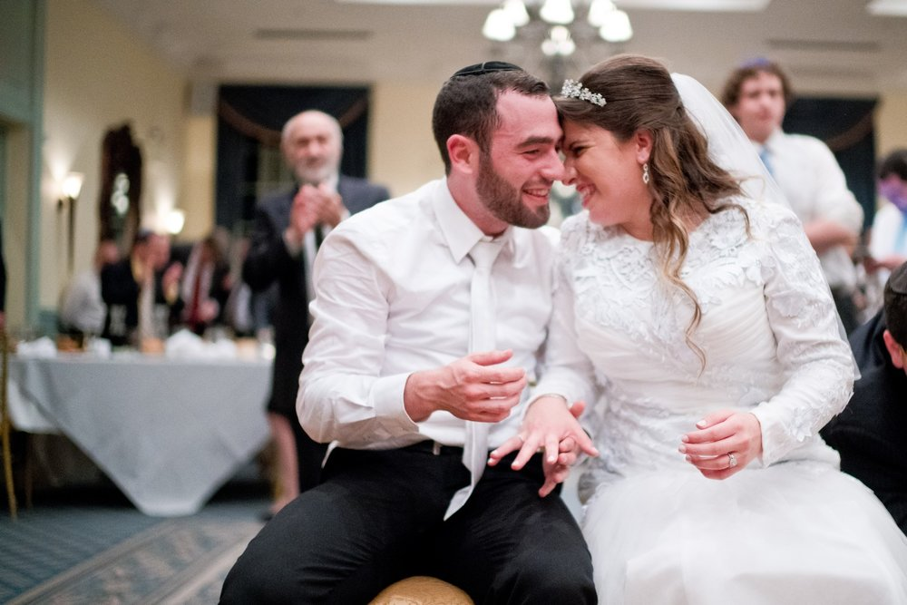 Orthodox Jewish Wedding, Dyker Beach Park and Golf Course, Brooklyn, New York, Photo by Chaim Schvarcz, Bride and Groom, Dancing