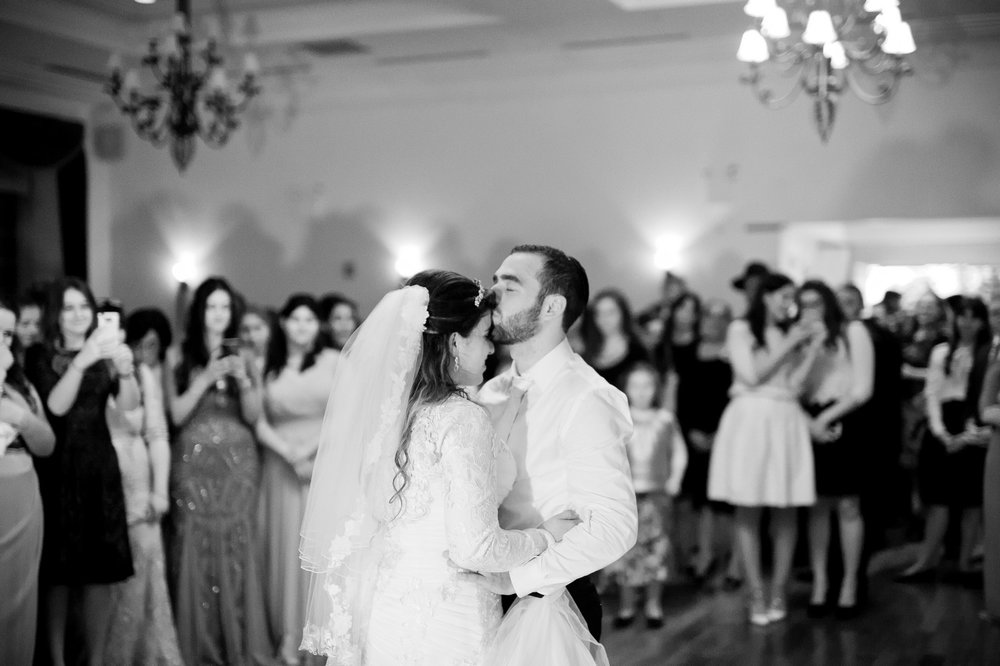 Orthodox Jewish Wedding, Dyker Beach Park and Golf Course, Brooklyn, New York, Photo by Chaim Schvarcz, First Dance, Bride and Groom