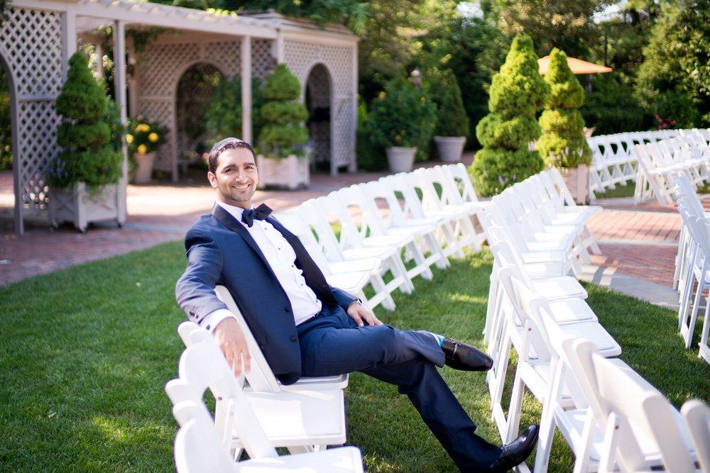 Sam and Yishai's Modern Orthodox Jewish Wedding at Crest Hollow Country Club, Woodbury NY, Photos by Chaim Schvarcz, Groom Portraits