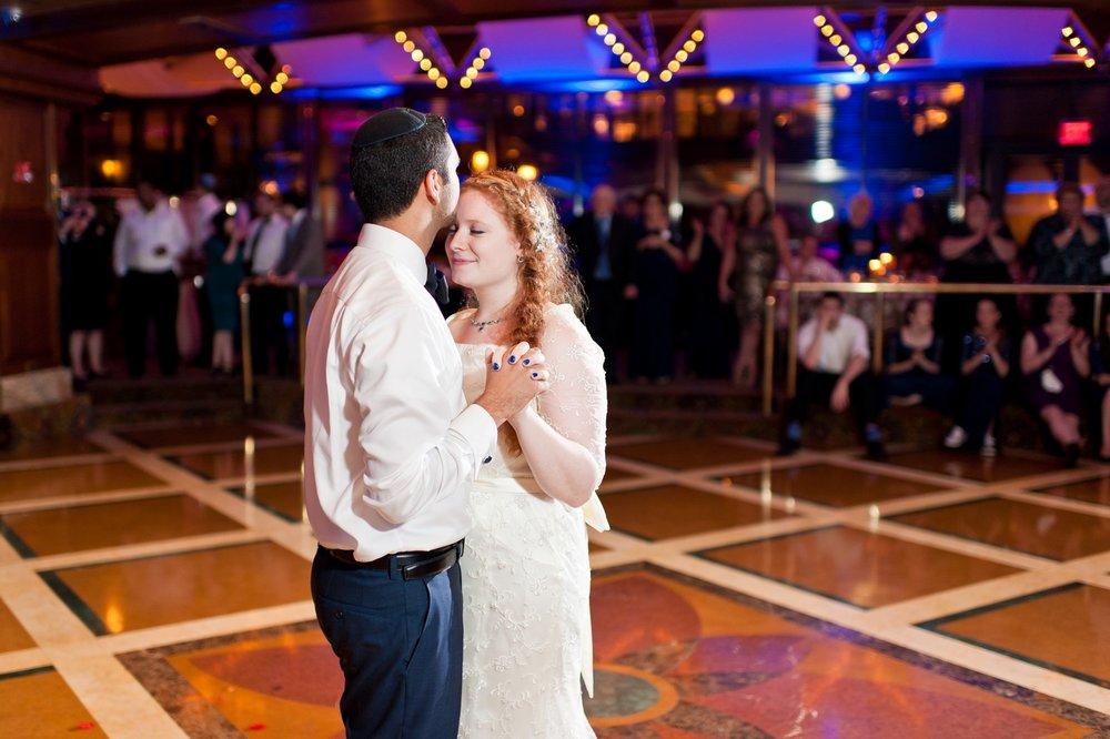 Sam and Yishai's Modern Orthodox Jewish Wedding at Crest Hollow Country Club, Woodbury NY, Photos by Chaim Schvarcz, Bride, Groom, First Dance